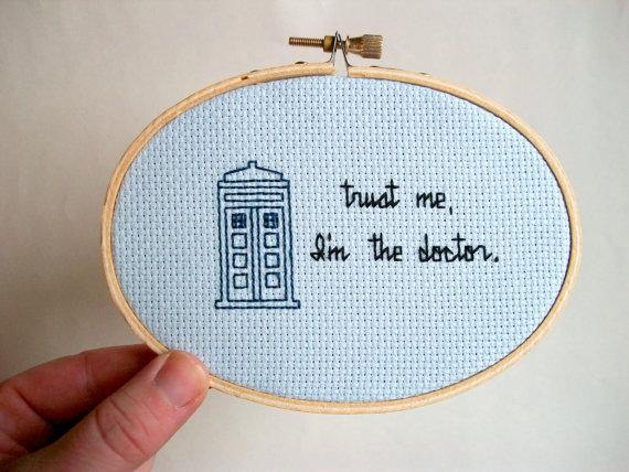 """""""Trust Me, I'm The Doctor"""" <em>Doctor Who</em>"""