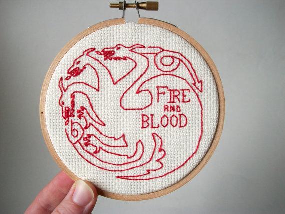 House Targaryen Sigil and Motto <em>Game of Thrones</em>