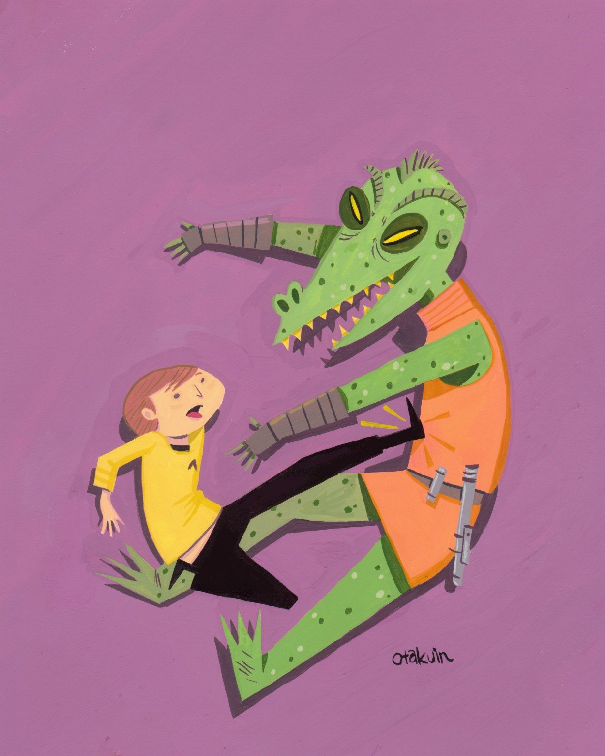 Kirk and Gorn