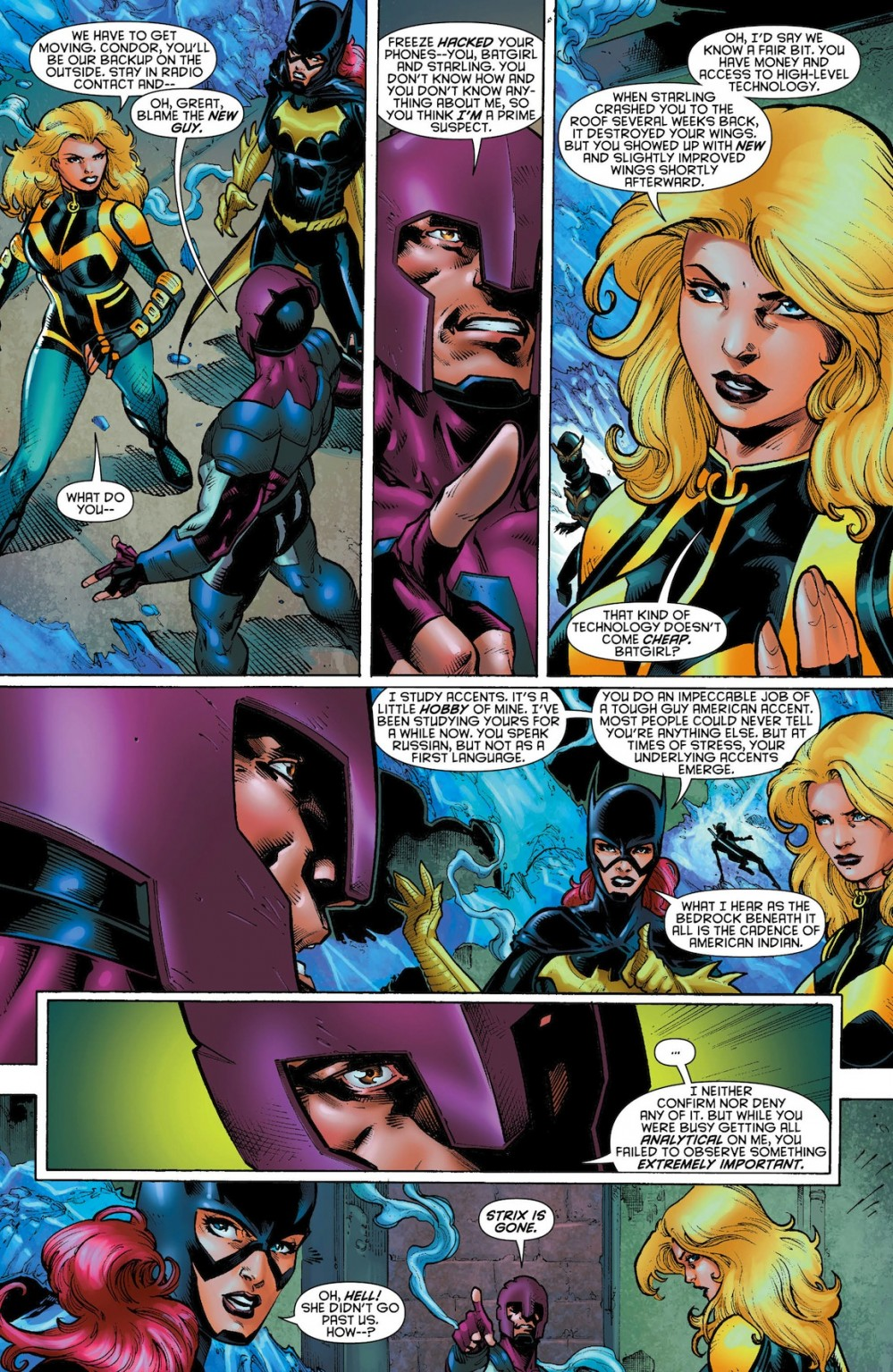 Birds of Prey #19