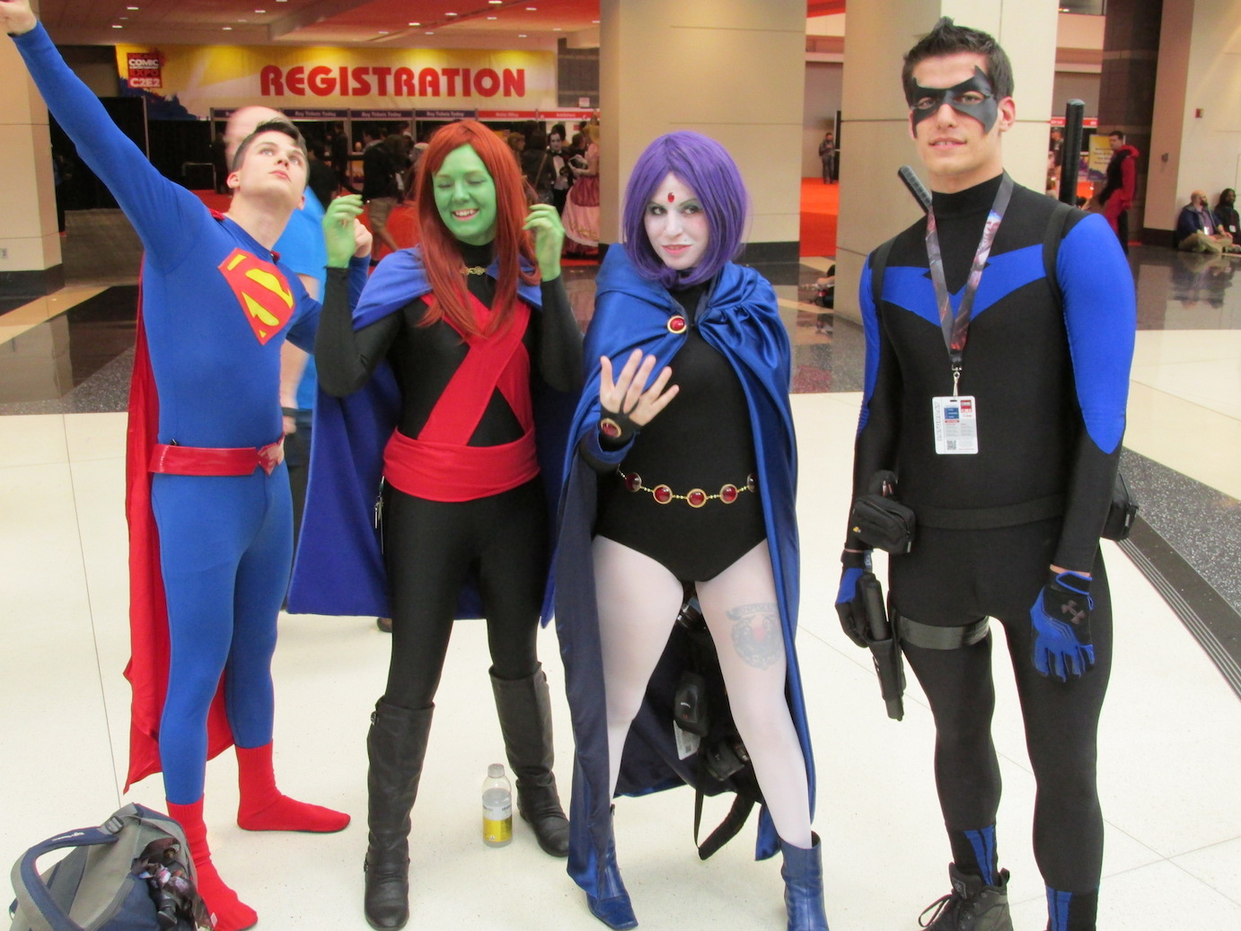 Teen Titans and Superman