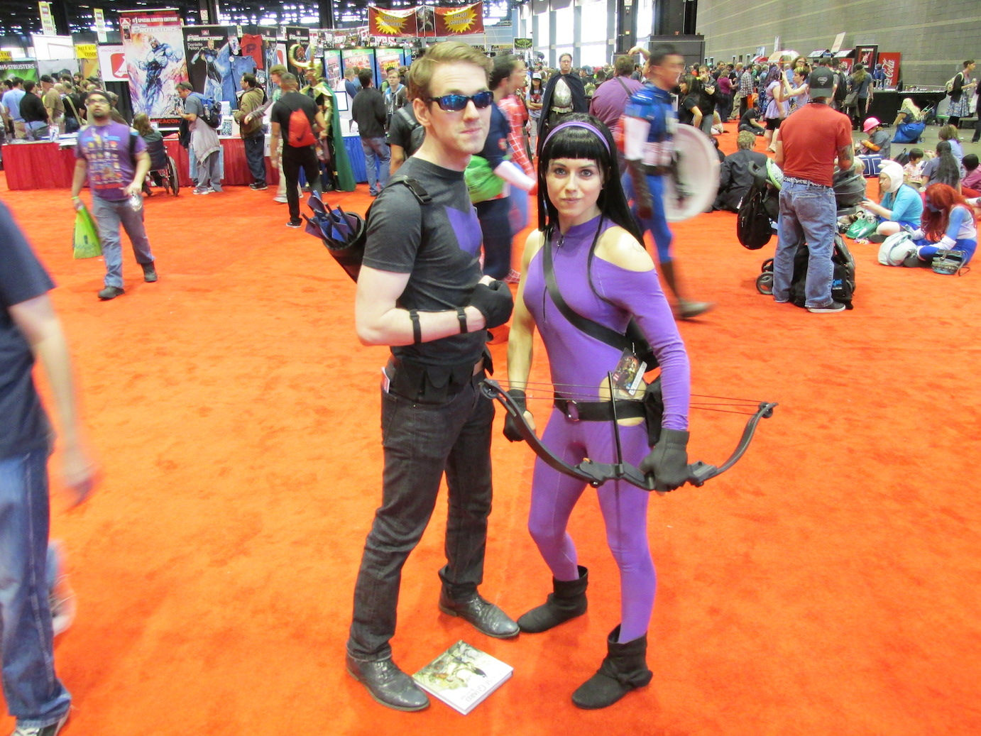 Hawkguy and Hawkeye