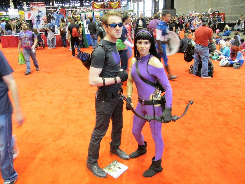 Hawkguy and Hawkeye