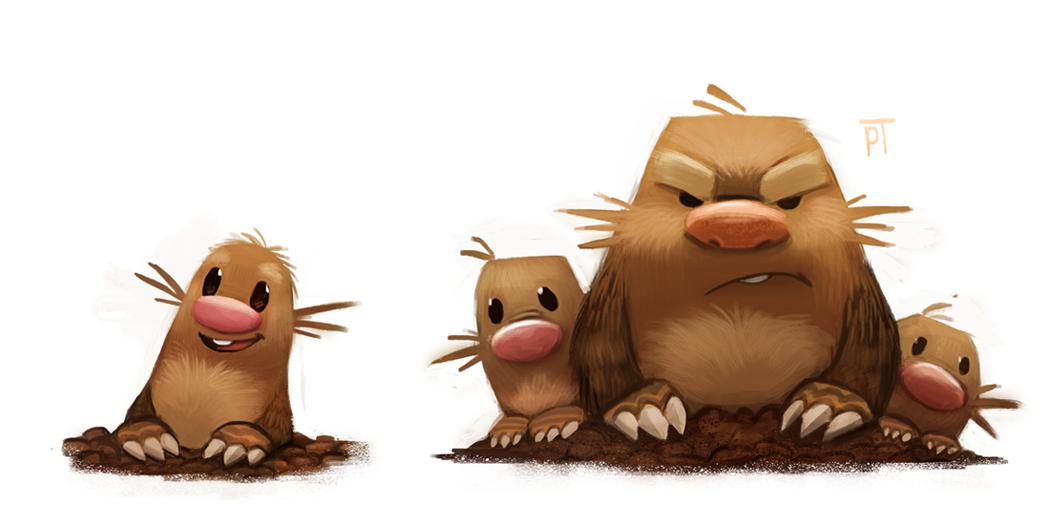 Diglett Evolution