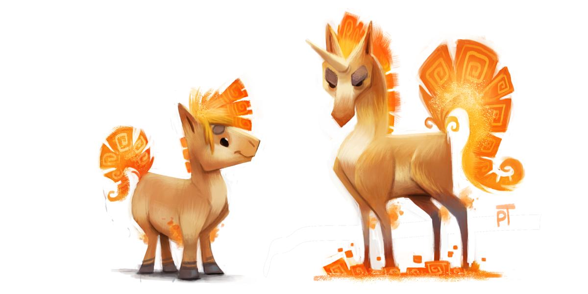 Ponyta Evolution