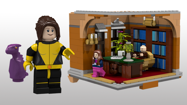Kitty Pryde, with Headmaster's Office