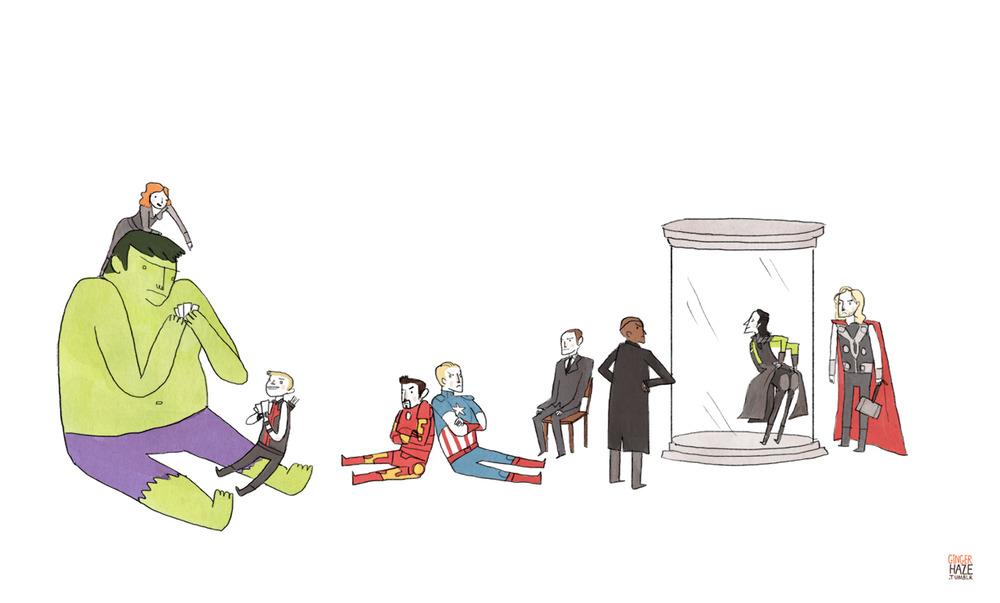 Avengers Hangout, GingerHaze