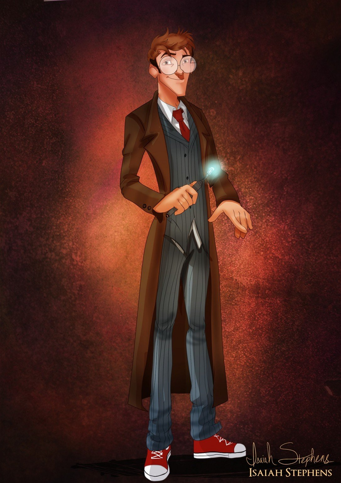 Milo Thatch as The Doctor (Tennant)