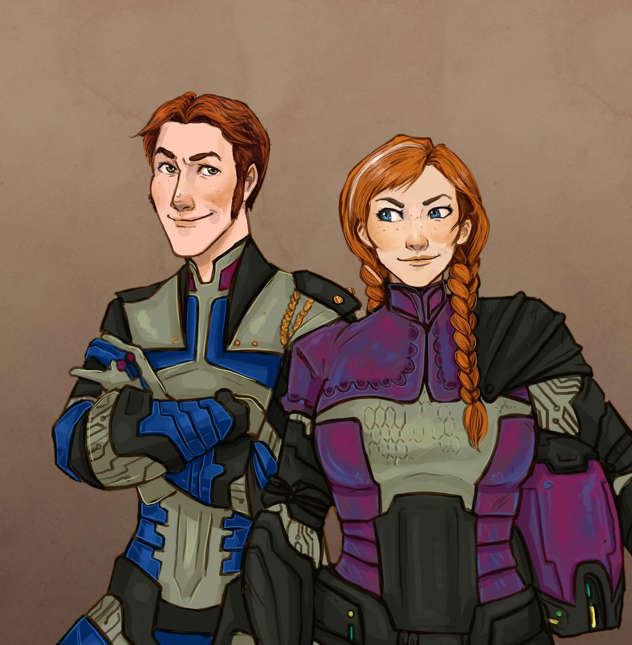 Hans and Anna, Frozen Heart