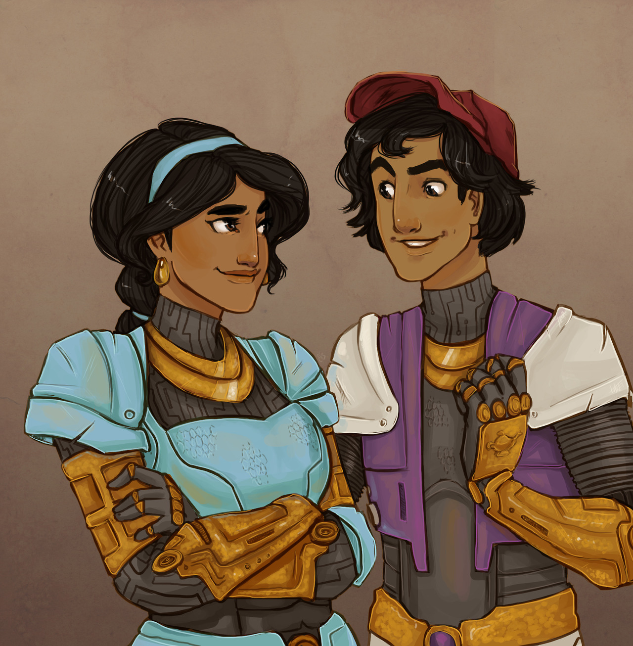 Jasmine and Aladdin, Arabian Knight