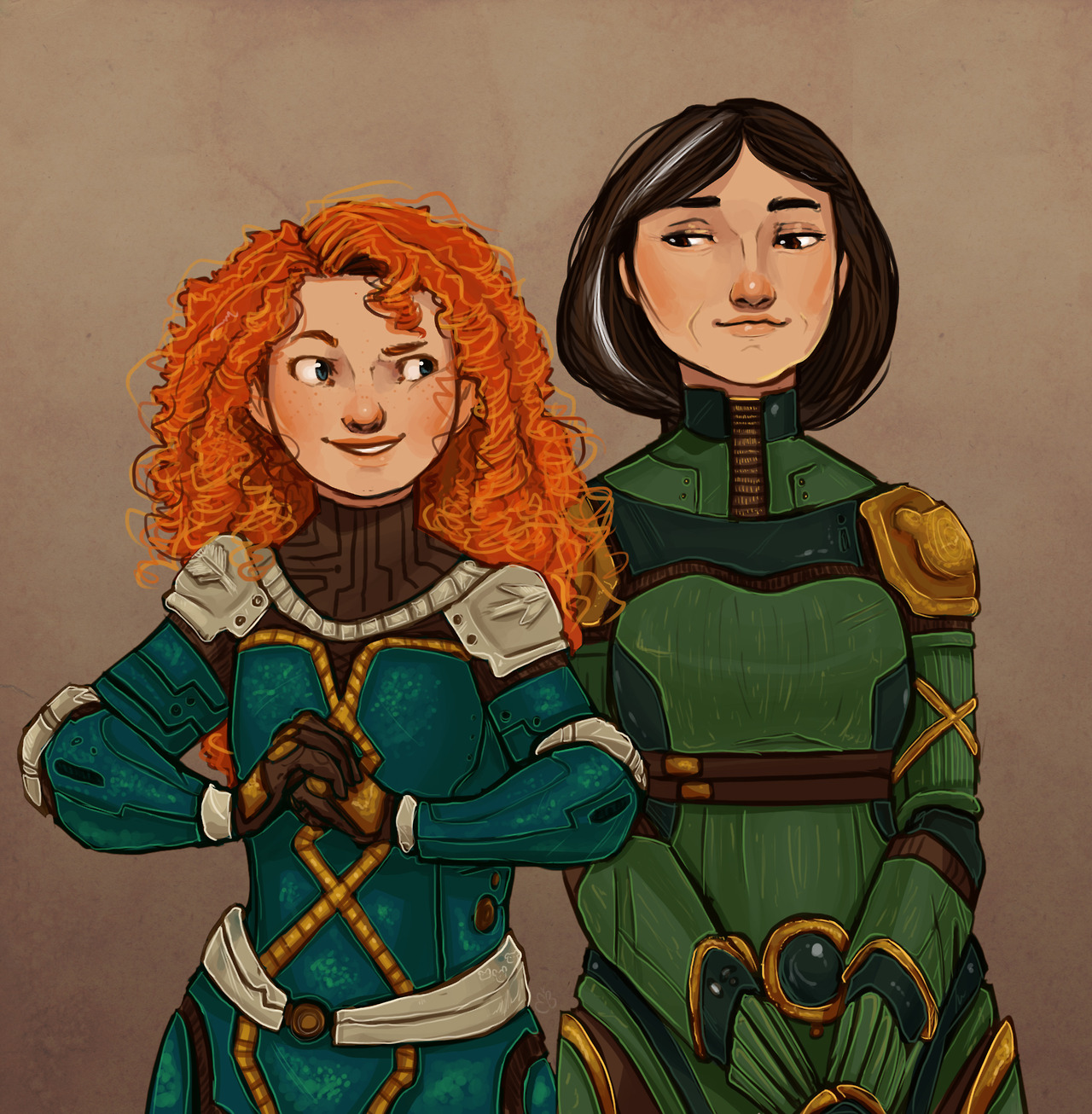 Merida and Elinor, Ursa Major