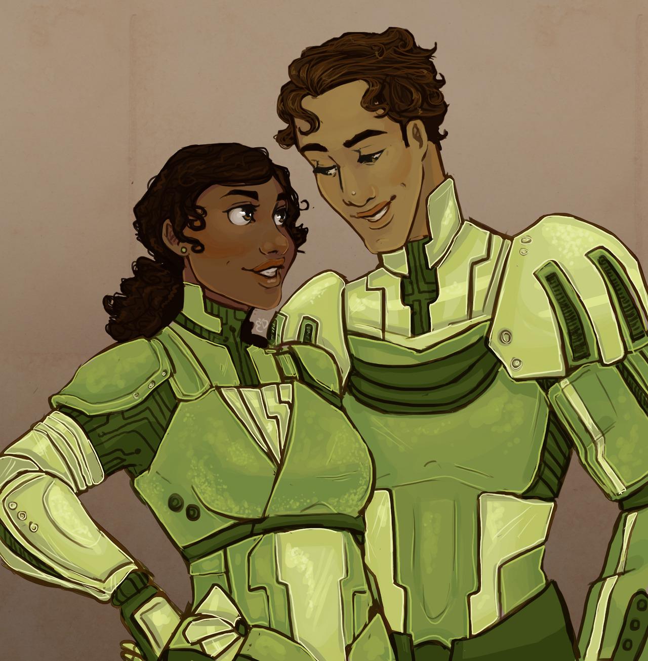 Tiana and Naveen, Evening Star