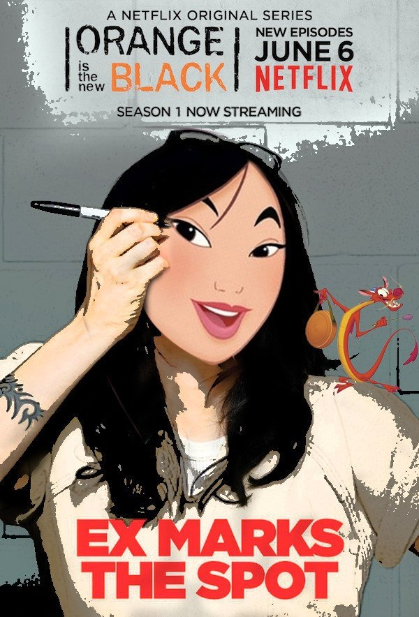 Mulan as Alex
