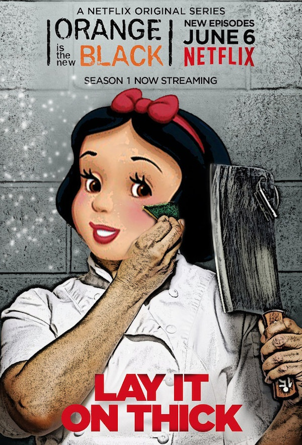 Snow White as Gloria