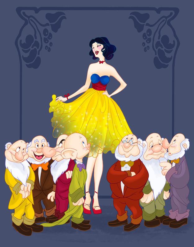 <em>Snow White and the Seven Dwarfs</eM>