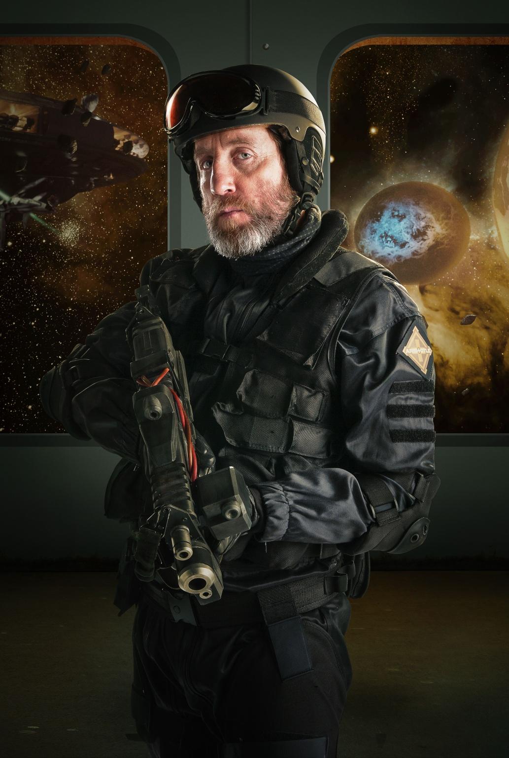 Michael Ashton as Colonel Morgan Blue