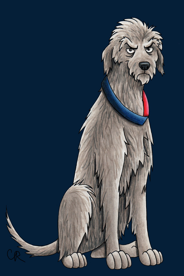 Peter Capaldi - Irish Wolfhound
