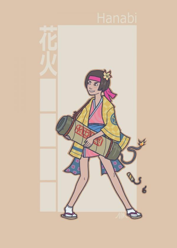 jidaigeki_x_men__jubilee_by_genesischant-d5i01e5