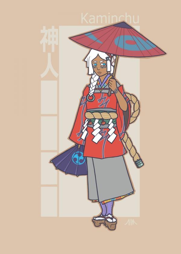 jidaigeki_x_men__storm_by_genesischant-d5htz1x