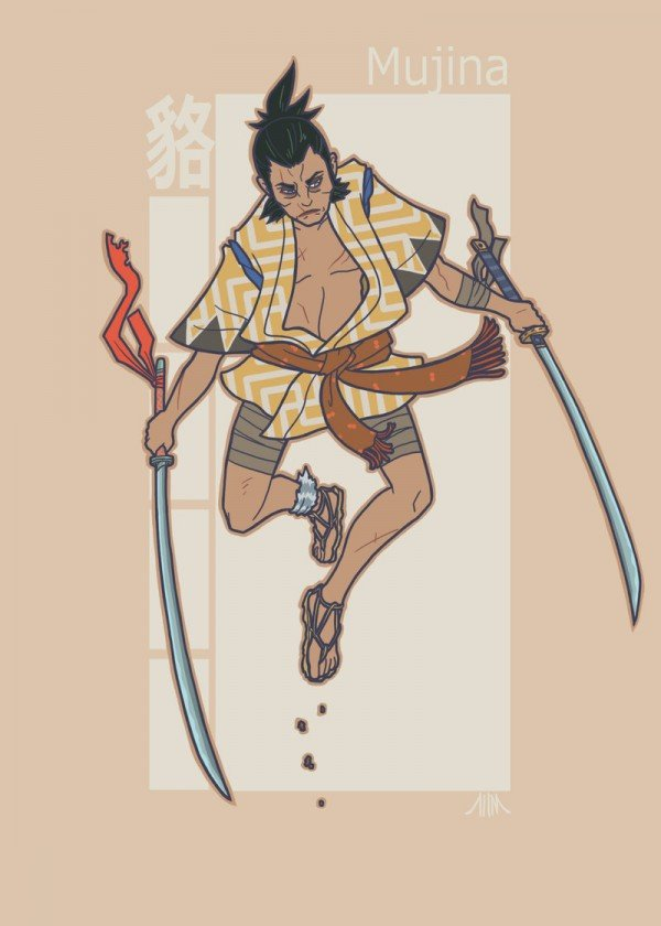 jidaigeki_x_men__wolverine_by_genesischant-d5h8esi