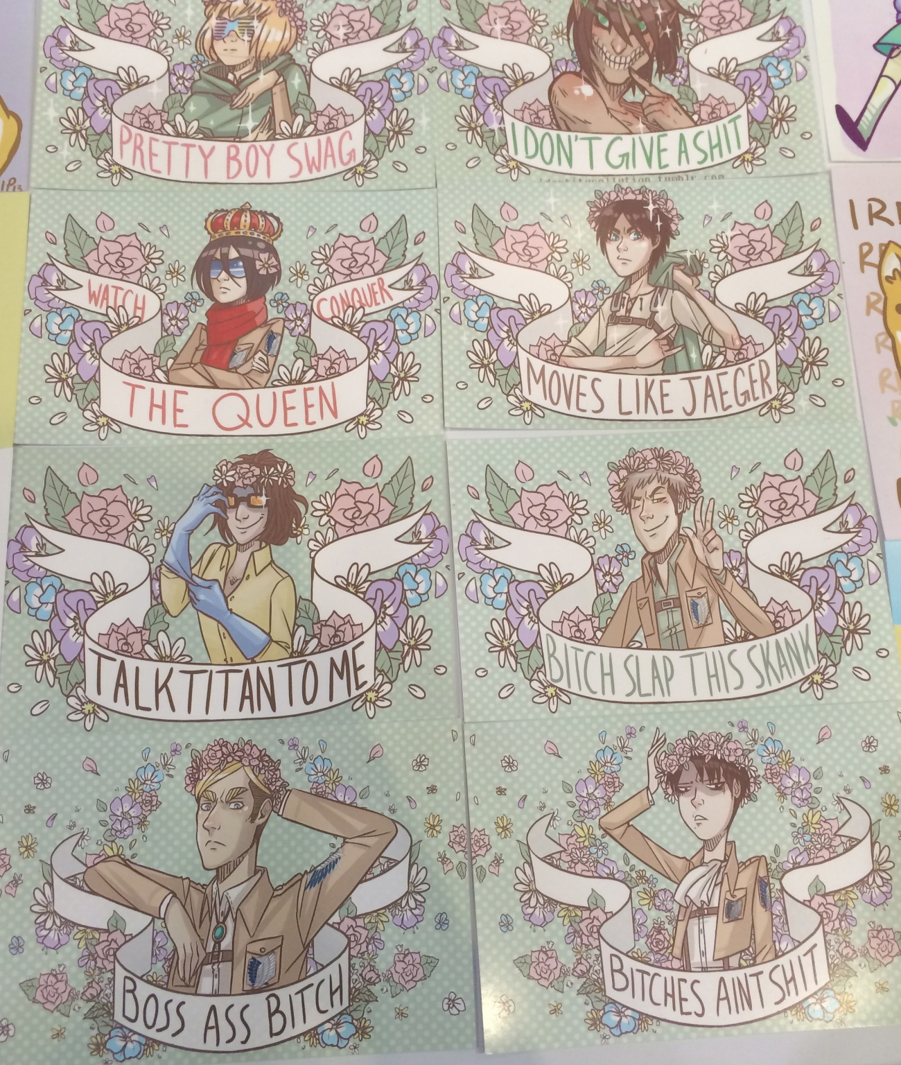These <em>Attack on Titan</em> prints are everything
