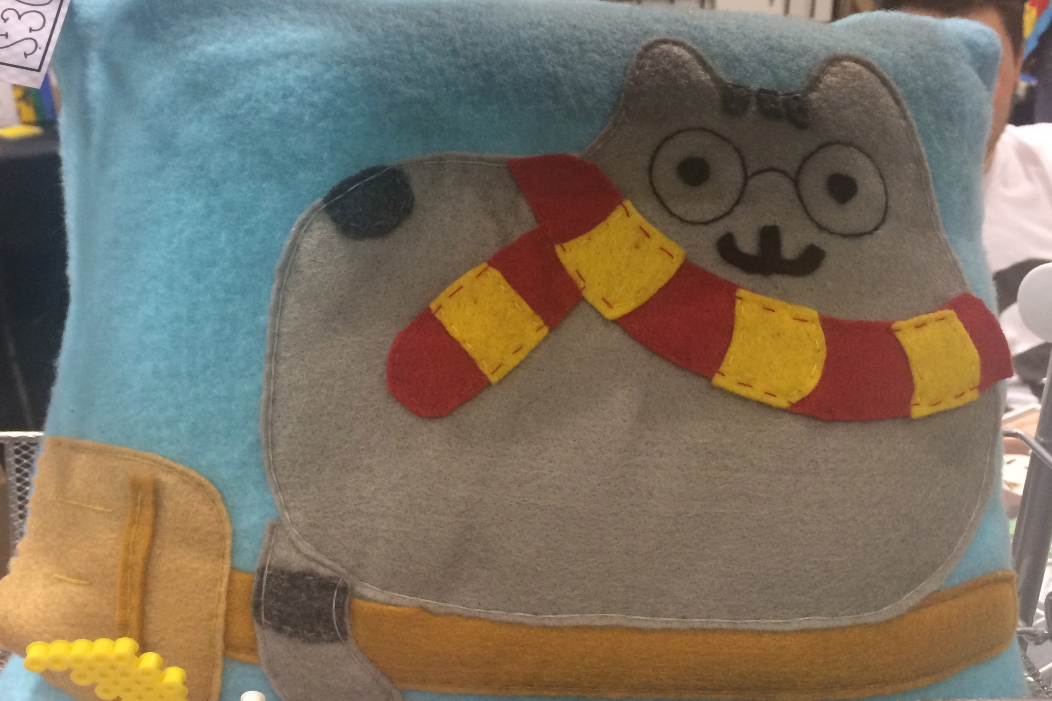 Pusheen Potter Pillow