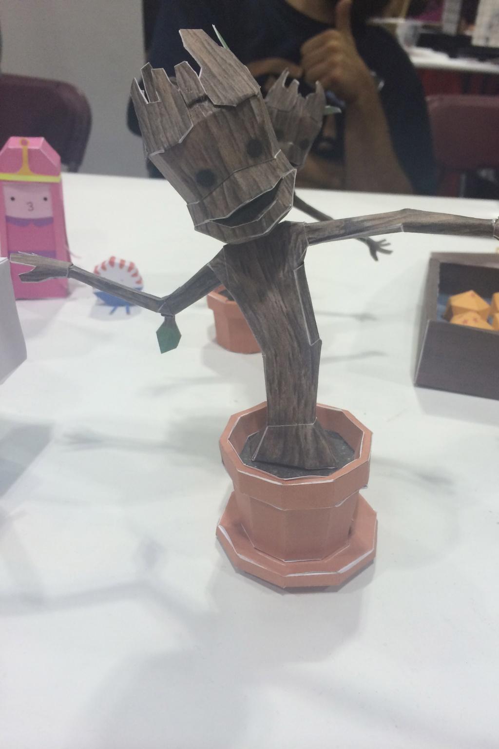 Groot made of paper! Meta?