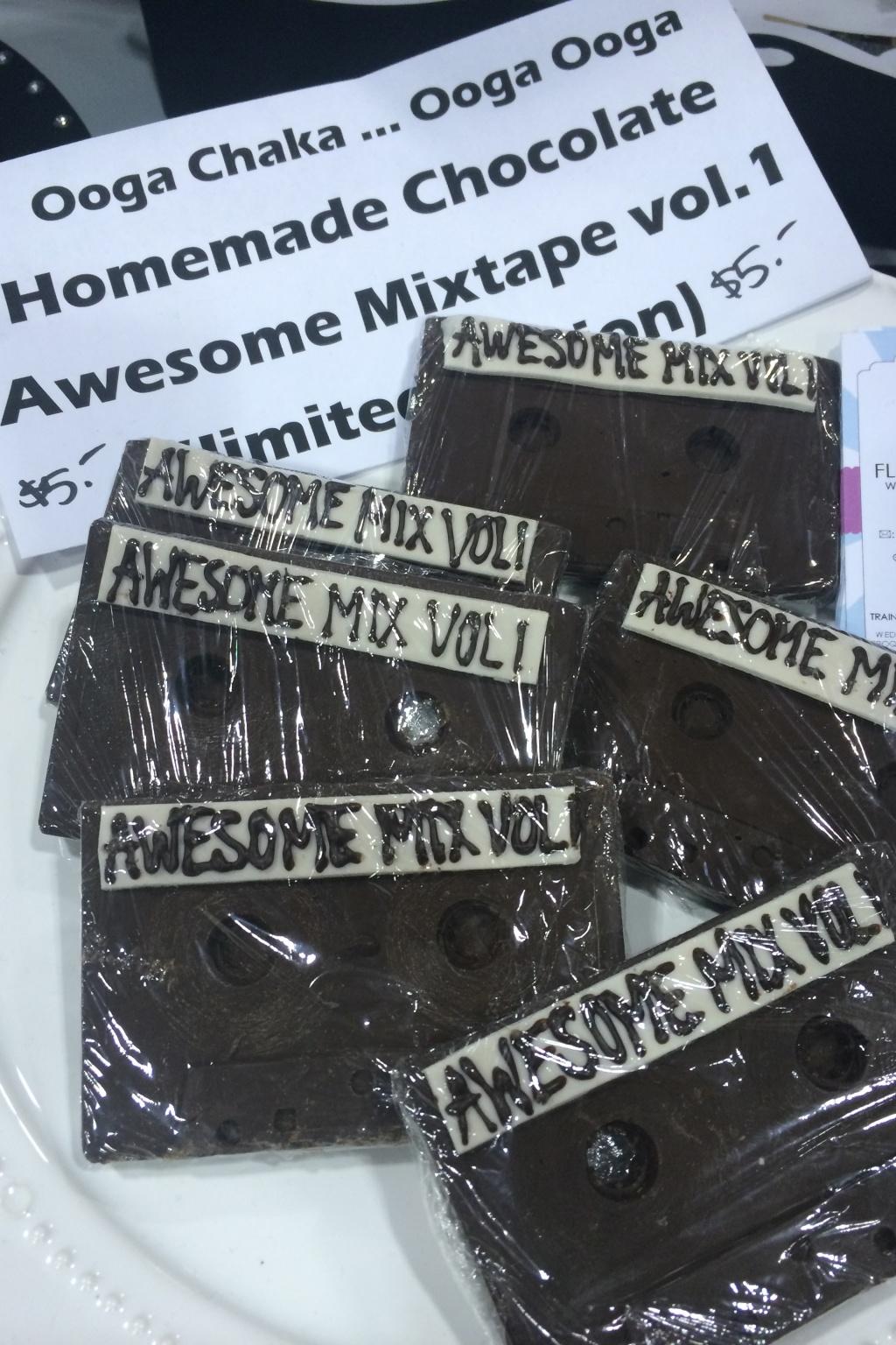 Awesomer Mix Vol. 1 - edible, chocolate remix