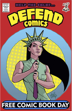 Help the CBLF Defend Comics