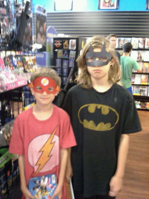 The Younger Members of the Ritcher Family -- Boomerang Comics, Lewisville, Texas