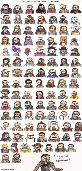 fictional-character-as-sloths