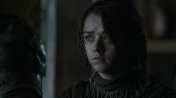 Unimpressed Arya