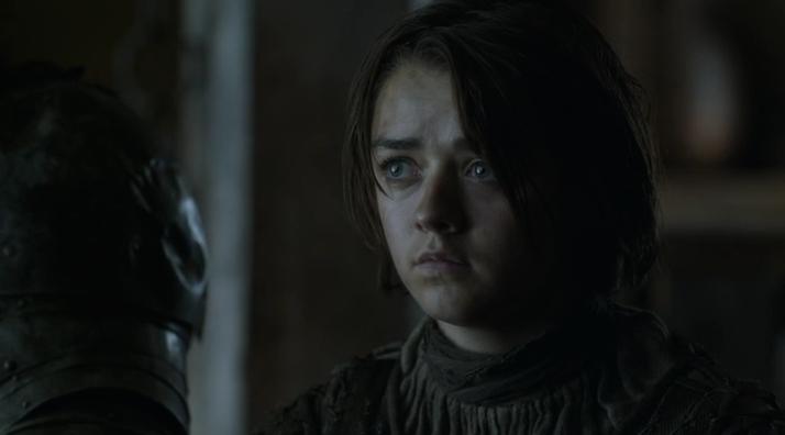 Unimpressed Arya