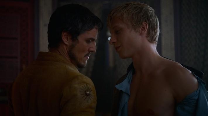 Bisexual Oberyn Martell