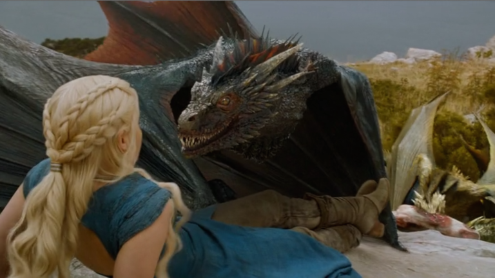 Dany the Dragon Tamer!