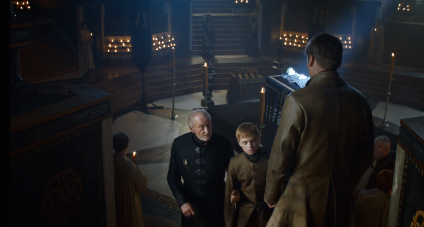 Tywin Giving Tommen the Sex Talk