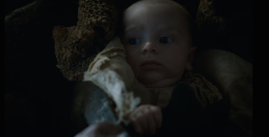Little Sam is Freakishly Intelligent-Looking for an Infant