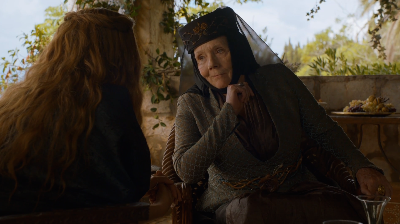 Get down with your bad self, Olenna Tyrell
