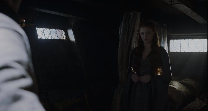 Sansa not having any of Littlefinger's BS