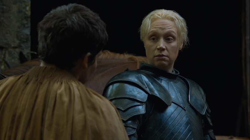 Brienne's 'You were saying?'