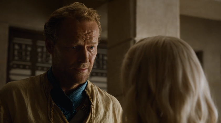 Reality check from Jorah Mormont