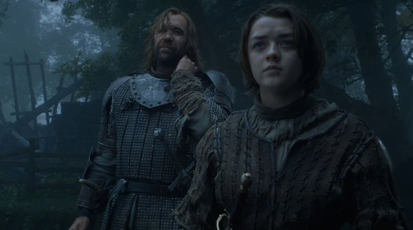 Arya and the Hound, tag team murder BFFs