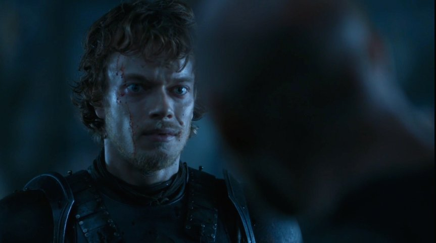 Alfie Allen playing Theon playing Reek playing Theon