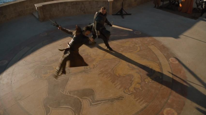 Oberyn Martell's fighting style