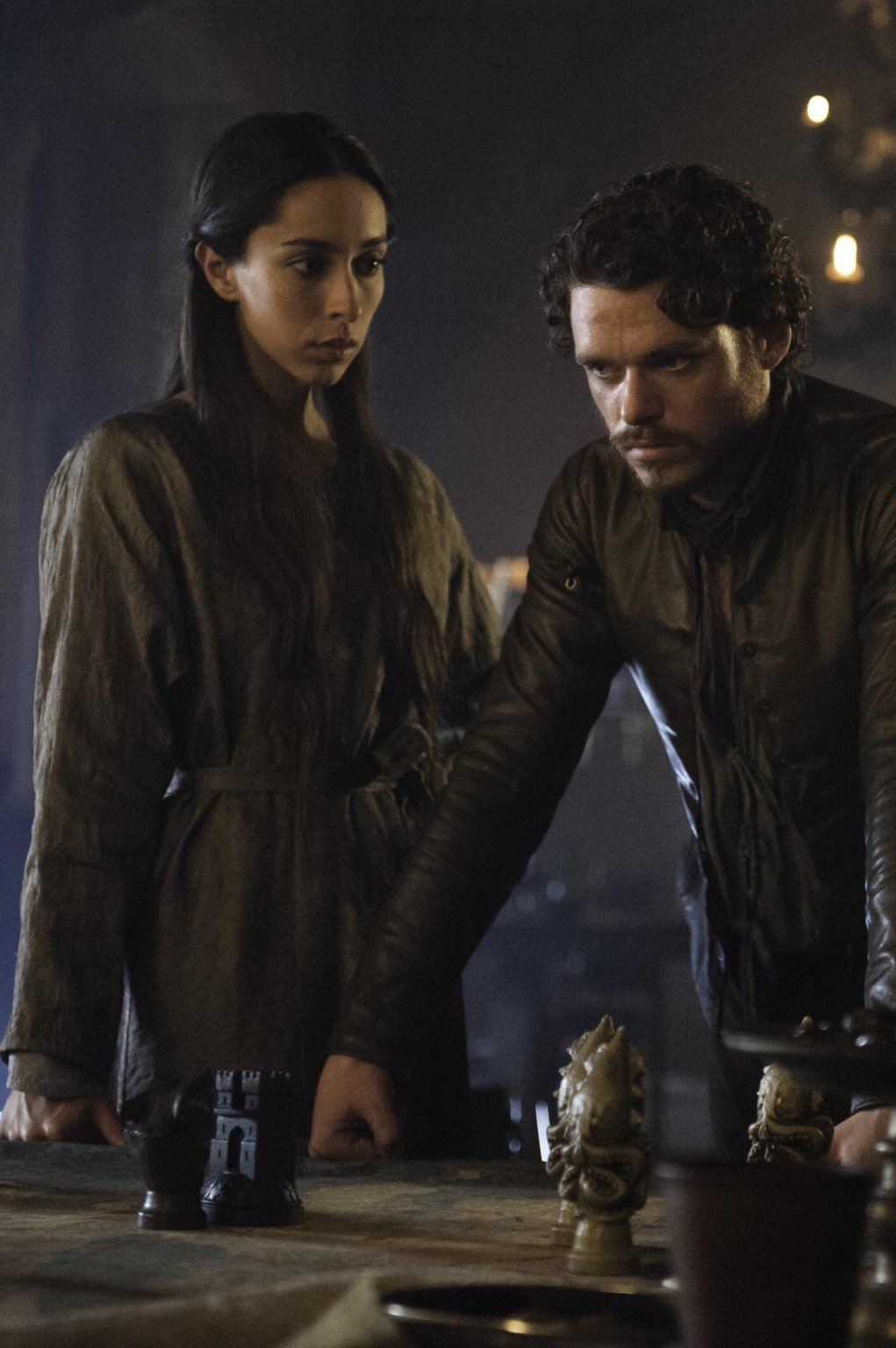 Robb Stark and Jeyne (Sorry, Talisa) Westerling