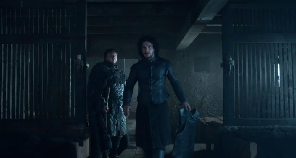 Jon, Looking Cheerful