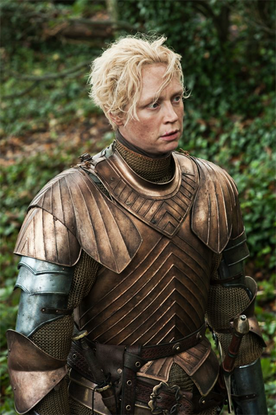 Brienne Teaching Podrick How to Knight