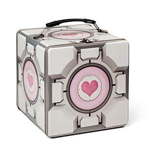 Companion Cube Lunch Box