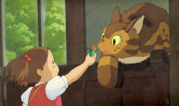 You guys. We're in My Neighbor Totoro. #tearsofjoy