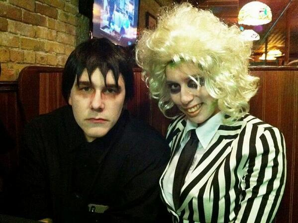 Lydia and Beetlejuice